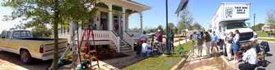 Aragon:-Jordan-Financial-Services_tmaat07.jpg:  victorian house, victorian front porch, film commercial, aragon development, historic district, escambia county