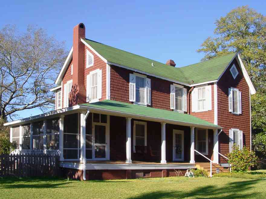 Century:-Historic-District:-Showalter-House_01.jpg:  shake siding, half-moon shutters, century historic district
