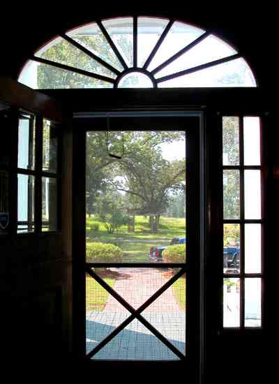 Century:-Tannenheim_01c.jpg:  victorian mansion, southern mansion, white columns, heart pine wood, tongue and groove walls, pasture, lake pecan orchard, plantation, rolling pastures, timber, fanlight, beveled glass, screen door, country road