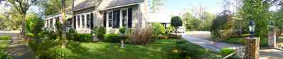East-Hill:-McAlpin-Shop_07.jpg:  oak trees, driveway, traditional style, colonial style home, shutters,