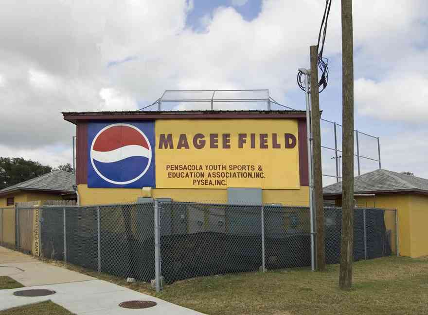 Magee+Field_01+WEB.jpg:  field, baseball, sports, mini league, cheerleaders,