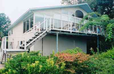Gulf-Breeze:-Navy-Cove-House_14.jpg:  house, deck, stairs