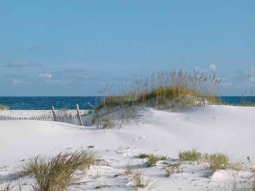 Gulf-Islands-National-Seashore:-Dunes:-9.2-Miles_02.jpg:  dunes, quartz sand, gulf of mexico, surf, sea oats, surf, barrier island, escambia county,