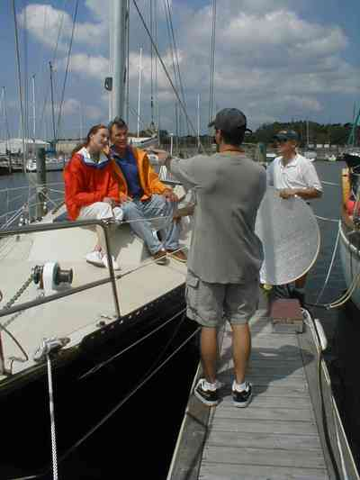 Naval-Air-Station:-Bayou-Grande-Marina_01.jpg:  sail boat, yacht, film crew, director, photographer, actor, model
