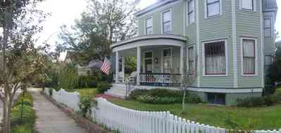 North-Hill:-915-North-Spring-Street_02.jpg:  picket fence, north hill preservation district, crepe myrtle tree,