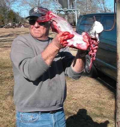 Oak-Grove:-Carpenters-Catfish-Farm_11.jpg:  entrails, gaffing hook, catfish skinning, catfish cleaning