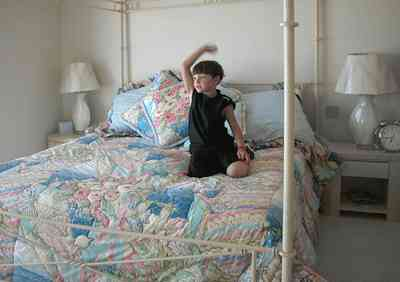 Pensacola-Beach:-1212-Ariola-Drive_22.jpg:  children's bedroom, canopy bed, beach house, gulf of mexico, pensacola beach