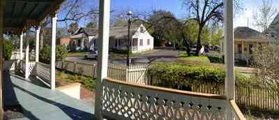 Pensacola:-Historic-Pensacola-Village:-Lear-Rocheblave-House_04.jpg:  victorian house, victorian front porch, gingerbread trim, weavers cottage, white picket fence