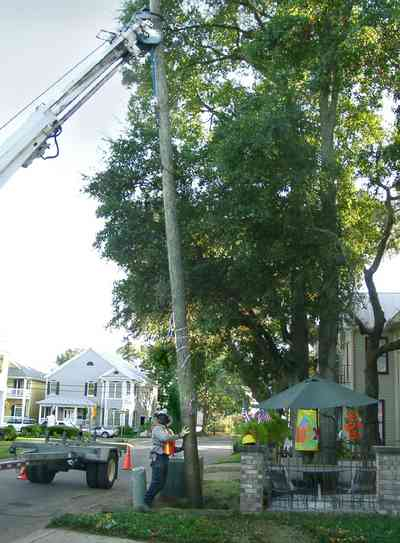 Pensacola:-Seville-Historic-District:-215-Cevallos-Street_16.jpg:  gulf power company, utility workers, umbrella