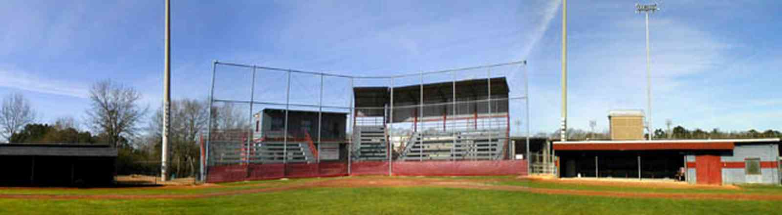 Pensacola:-Tate-High-School_00a.jpg:  grandstand, home plate, baseball field, dugouts, escambia county, home plate, concession stand, press box, gonzales