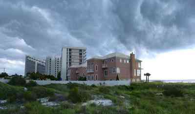 Perdido-Key:-Gothic-House_09.jpg:  eden condo, storm, dune, beach, water, gulf of mexico