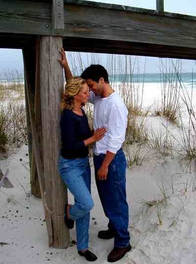 Perdido-Key:-Gothic-House_12.jpg:  dunes, gulf of mexico, sea oats, wrangler jeans, models