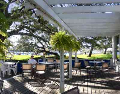 Sanders-Beach:-Pensacola-Yacht-Club_01d.jpg:  fern, oak tree, deck, patio, tom roush