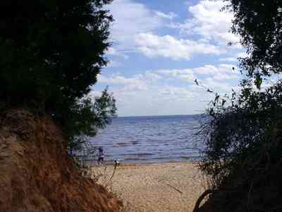 Scenic-Highway:-Bay-Bluffs-Park_04.jpg:  clay bluffs, gulf coast, escambia bay, beach