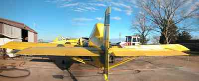 Walnut-Hill:-Mikes-Ag-Air_03.jpg:  crop duster, agricultural applications, chemical dusting, farm, farmland, airplane, single engine airplane