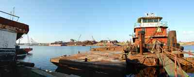 Brown+Marine_03.jpg:  tugboat, pier, dock, marina, bayou chico,