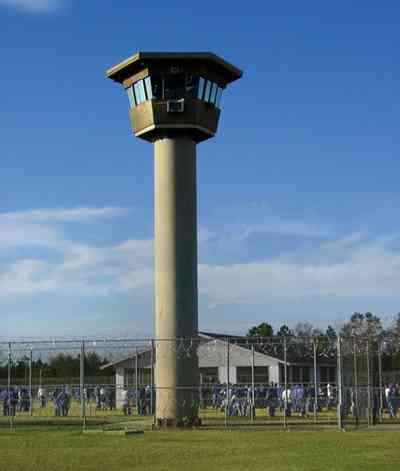 Century:-Prison_07.jpg:  guard tower, prison, exercise yard,