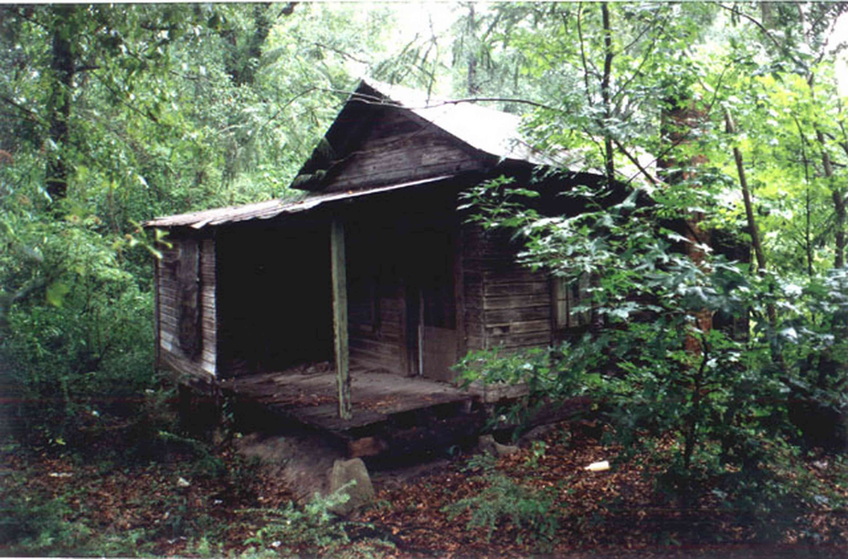 Century:-Shotgun-Mill-Houses_01.jpg:  shack, dilapidated house, shotgun house, falling down house