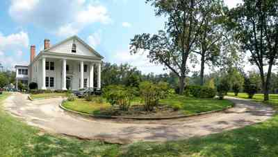 Century:-Tannenheim_02.jpg:  victorian mansion, southern mansion, white columns, heart pine wood, tongue and groove walls, pasture, lake pecan orchard, plantation, rolling pastures, timber, country road