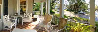 East-Hill:-McAlpin-Shop_10.jpg:  front porch, traditional style, colonial home, oak tree,