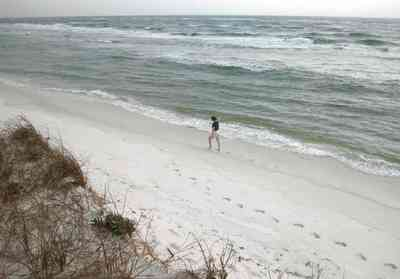 Gulf-Islands-National-Seashore:-Fort-Pickens:-Dunes_10.jpg:  dune, waves, surf, island, sea oats, beach, santa rosa island, fort pickens,