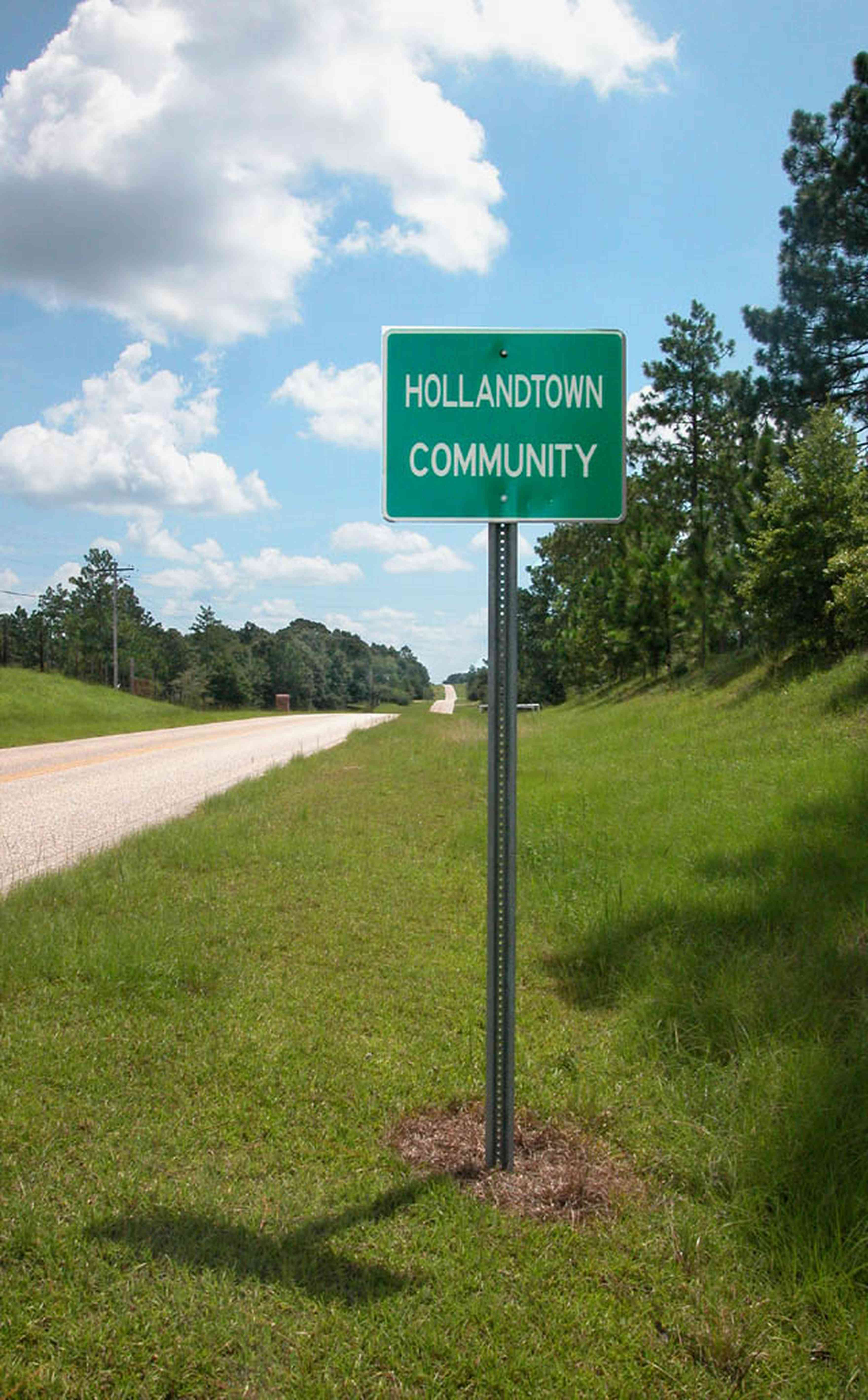Hollandtown:-Hwy-178_01.jpg:  highway sign, country road, two-lane road, farmland, farm community