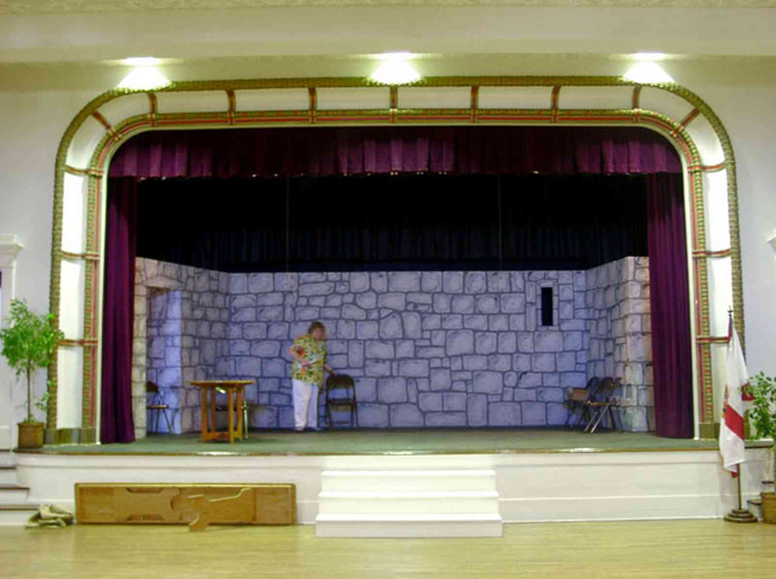 Milton:-Historic-District:-Imogene-Theatre_08.jpg:  stage, amateur theatre, props, stage set, curtain
