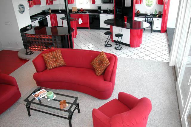 Navarre: 7332 Grand Navarre Blvd_20: Red Lacquer Cabinets