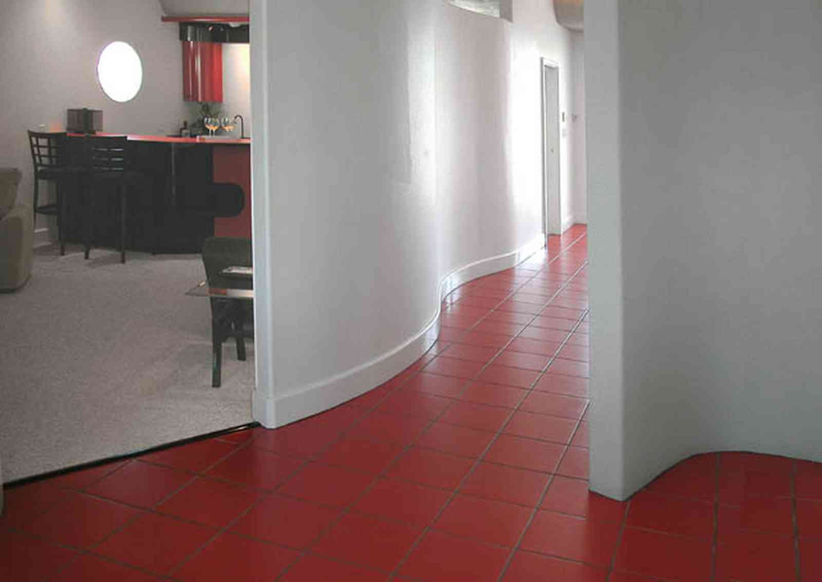 Navarre:-7332-Grand-Navarre-Blvd_25.jpg:  red tile floor, bar, den, art deco decor, art deco house, beach house