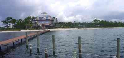 Navarre:-Biscayne-Pointe-Drive-House_25.jpg:  dock, deck, pier, house, beach, shore, sand