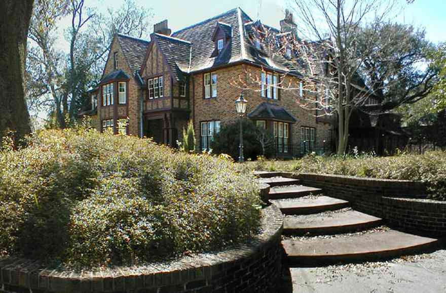 North-Hill:-1125-Spring-Street_02.jpg:  english tudor home, tudor architecture, oak tree, north hill preservation district