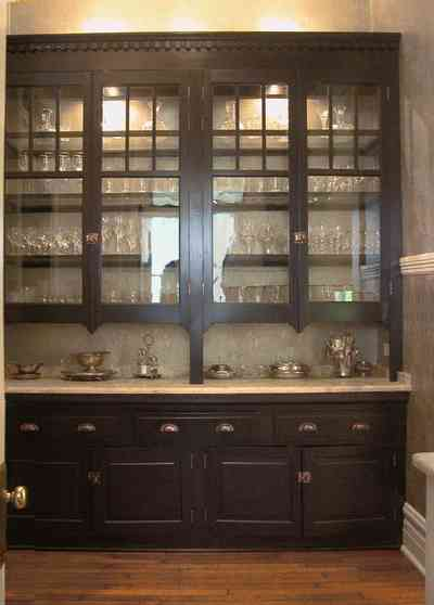 North-Hill:-116-DeSoto-St_02k.jpg:  butler's pantry, silverware, display cabinet, crystal, pantry