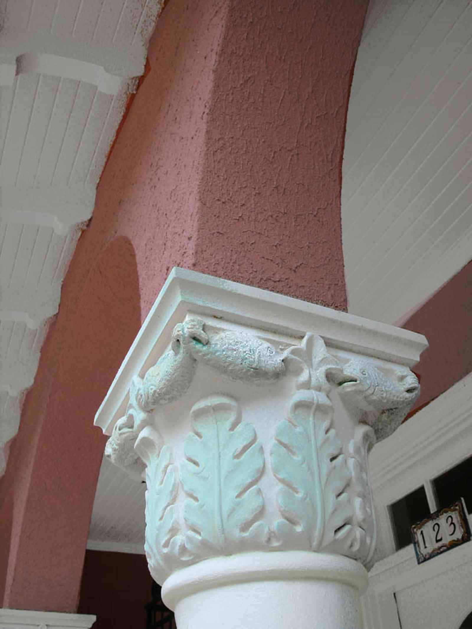 North-Hill:-123-West-Lloyd-Street_04.jpg:  corinthain columns, hacienda, terrace, period house, villa, italienate, spanish colonial revival,