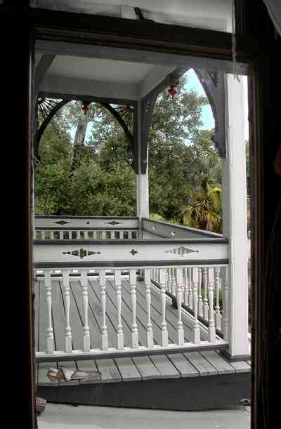 North-Hill:-304-West-Gadsden-Street_29.jpg:  porch, balcony, bannisters, arches,