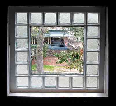 North-Hill:-Springhill-Guest-House_20a.jpg:  glass bricks, window, turret, attic window