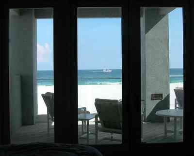 Pensacola-Beach:-1212-Ariola-Drive_23.jpg:  deck, balcony, beach view, beach house, patio furnture, pensacola beach