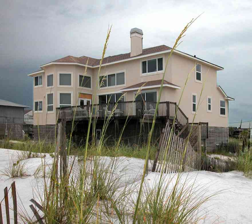 Pensacola-Beach:-810-Ariola-Drive_00.jpg:  sea oats, dunes, gulf of mexico, beach house