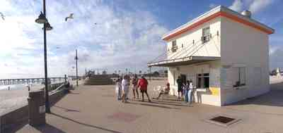 Pensacola-Beach:-Casino-Beach_02.jpg:  sand dunes, gulf coast, beach, sea gulls, fishing pier, escambia county, snack bar