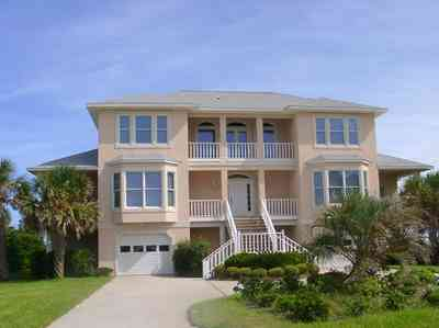 Pensacola-Beach:-Hermosa-St-Homes_12.jpg:  mediterrean villa, gulf of mexico, palm tree