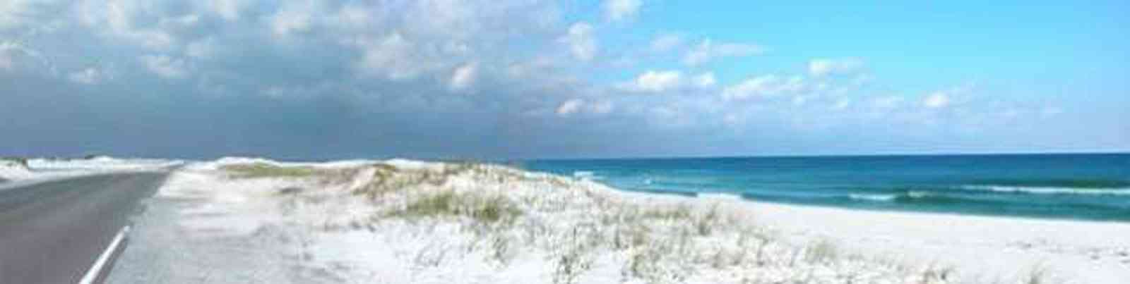 Pensacola-Beach:-Road_11.jpg:  gulf of mexico, santa rosa island, beach road, ,