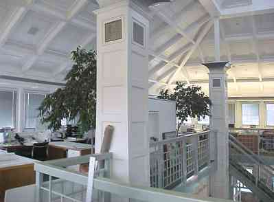 Pensacola:-Downtown:-Quina,-Grundhoefer,-Royal-Architects_13.jpg:  architect, office space, loft, arch, column