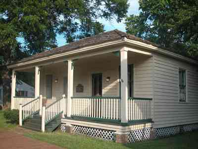 Pensacola:-Historic-Pensacola-Village:-The-Weavers-Cottage_01a.jpg:  victorian cottage, front porch, shake roof, wood shingle roof, gulf coast cottage, pyramidal roof, pecan trees