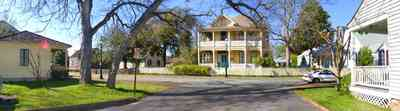 Pensacola:-Historic-Pensacola-Village:-The-Weavers-Cottage_03.jpg:  zaragoza street, victorian house, victorian cottage, gulf coast cottage, brick sidewalk, escambia bay, historic village