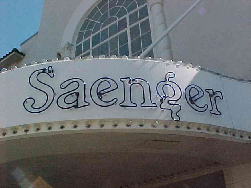 Pensacola:-Palafox-Historic-District:-Saenger-Theatre_02.jpg:  movie marque, spanish revival architecture, movie theatre