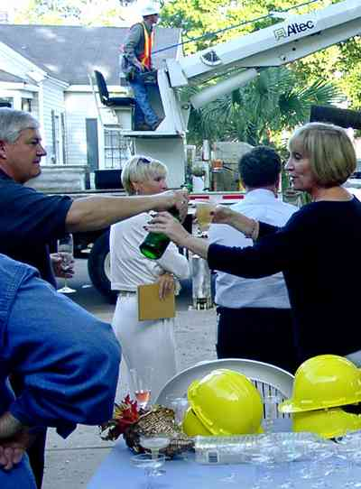 Pensacola:-Seville-Historic-District:-215-Cevallos-Street_11.jpg:  champagne, hard hat, gulf power