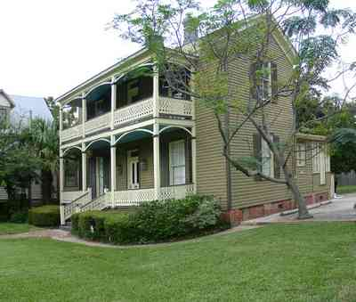 Pensacola:-Seville-Historic-District:-Power-Plus-Electric_03.jpg:  church, victorian house