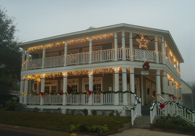 stunning with christmas porch railing decorations