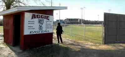Pensacola:-Tate-High-School_01.jpg:  baseball field, high school players, tate high school