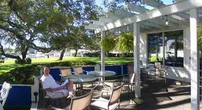 Sanders-Beach:-Pensacola-Yacht-Club_01e.jpg:  trellis, deck, patio, oak tree