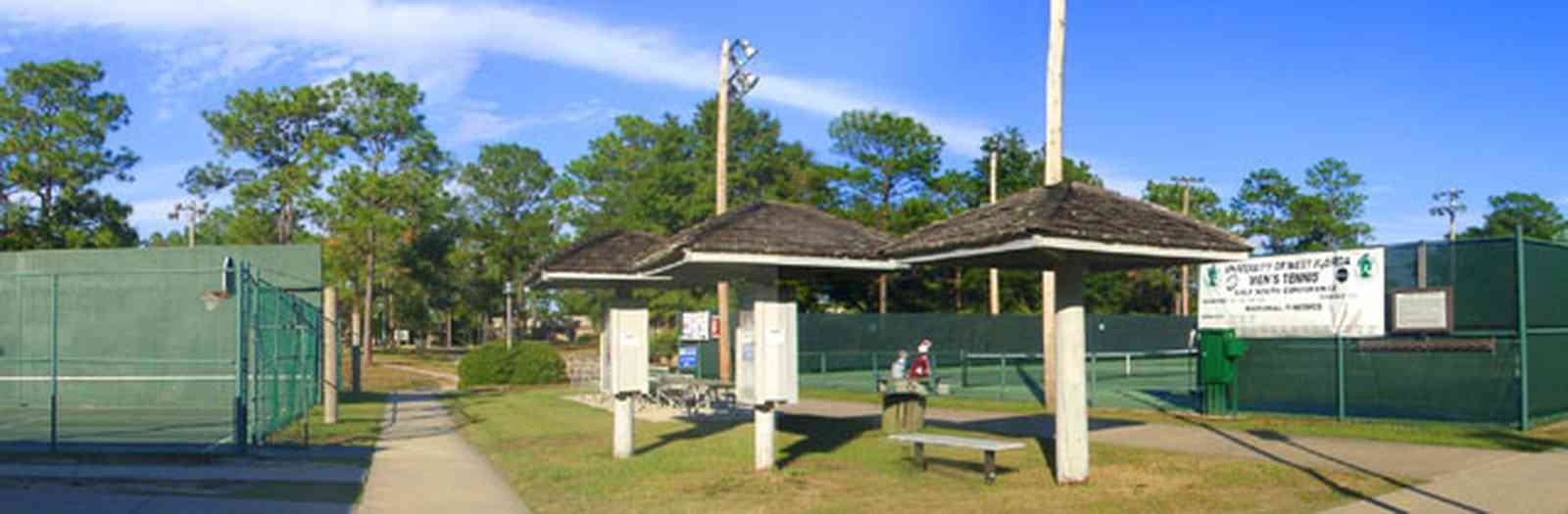 University-Of-West-Florida:-Campus_29.jpg:  university, campus, student, tennis courts, recreational facility